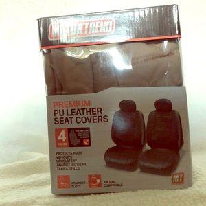 Premium pu leather seat covers